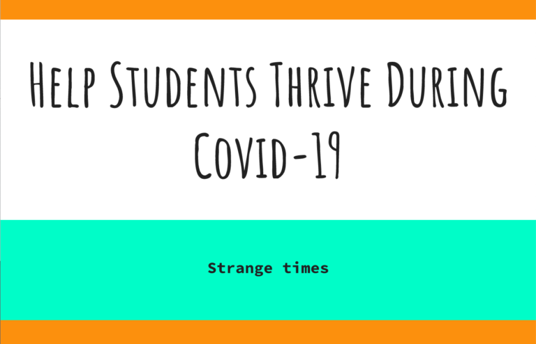 Supporting Students During Covid-19